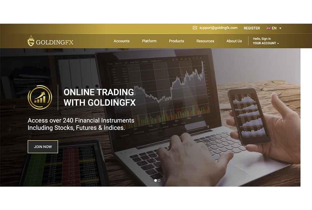 Отзывы о GoldingFX: чего стоит ожидать от брокера?
