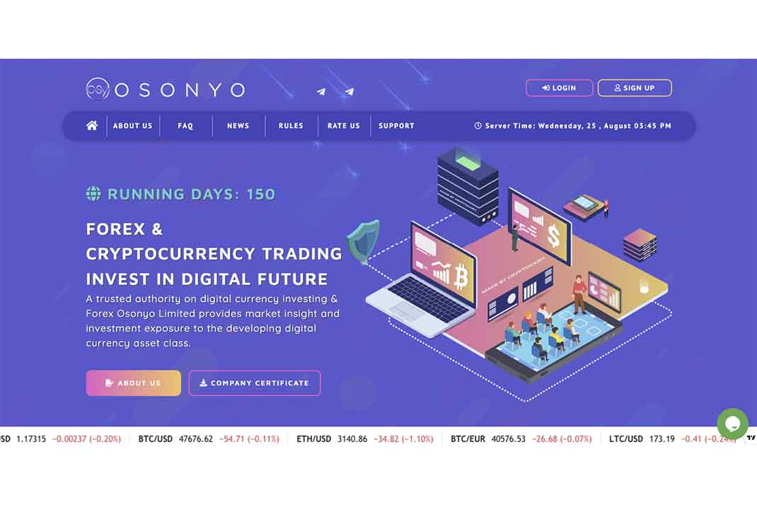 Отзывы об пирамиде Osonyo Trade. Чего следует ожидать от инвестпроекта?