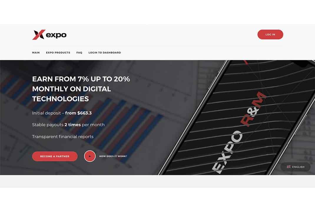 Отзывы об EXPO R&M: реальная платформа для заработка или очередной обман?
