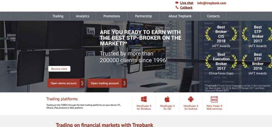 Отзывы о Trepbank: реальный брокер или обман?