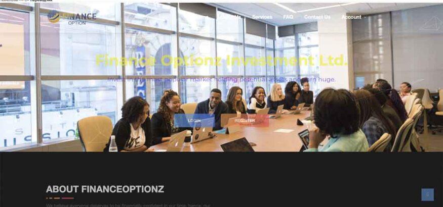 Отзывы о Finance Optionz: маркетинг, проверка легитимности